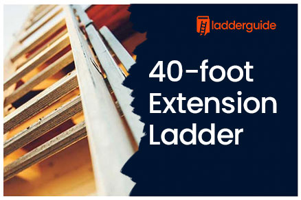 40-foot Extension Ladder